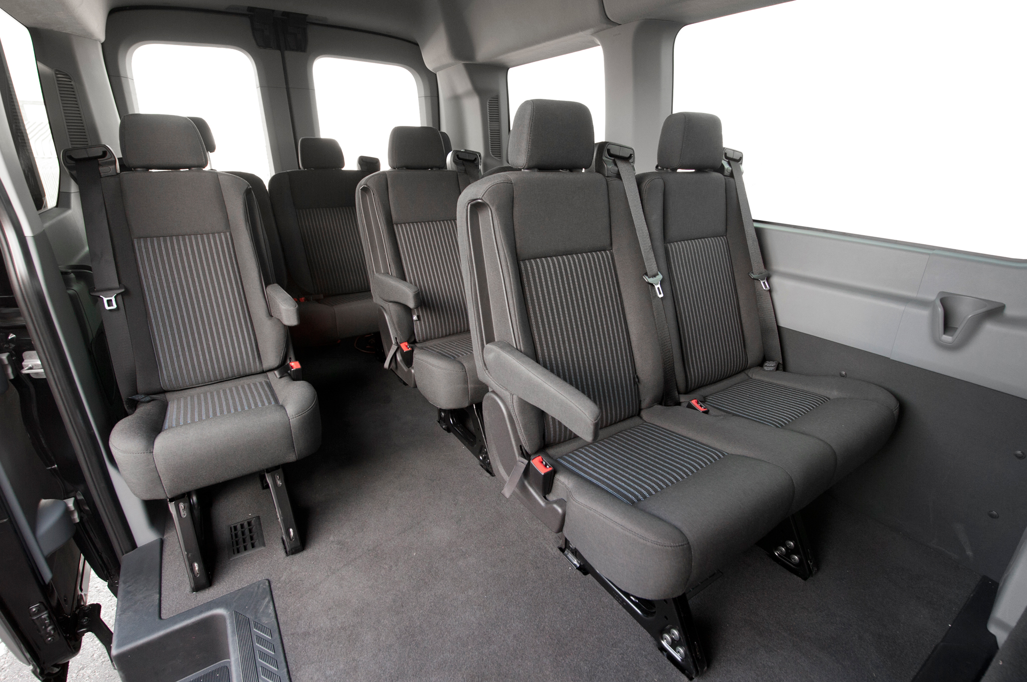 Ford Transit 350 >> 2015-Ford-Transit-150-EcoBoost-interior-seats - Power Travel